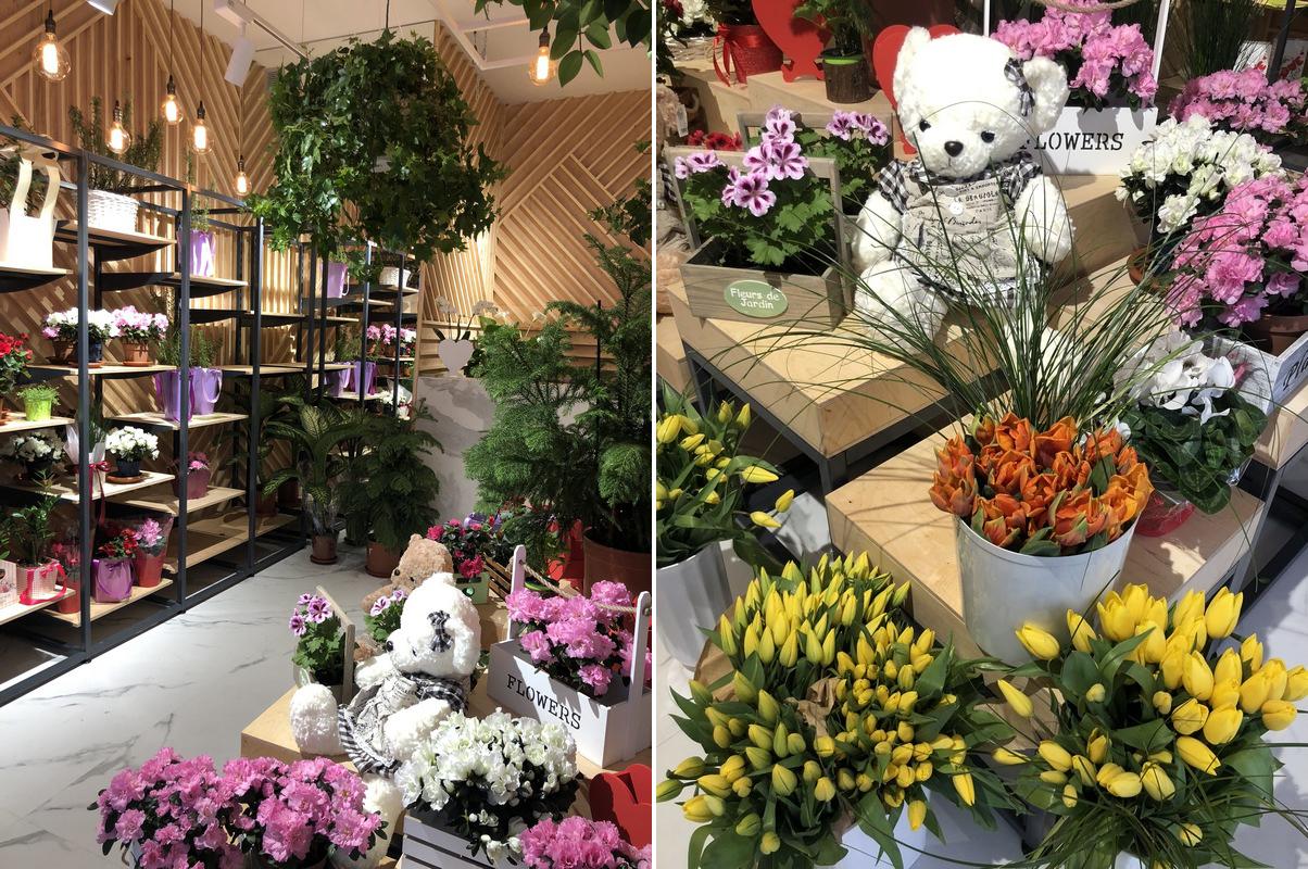 цветочный магазин киев